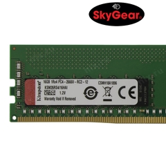 Kingston 16GB 2666MHz DDR4 ECC Reg CL19 DIMM 1Rx4 Hynix A IDT - KSM26RS4/16HAI