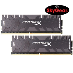 Kingston 16GB 3000MHz DDR4 CL15 DIMM (Kit of 2) XMP HyperX Predator - HX430C15PB3K2/16