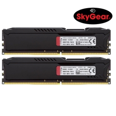 Kingston 32GB 2666MHz DDR4 CL16 DIMM  (Kit of 2) HyperX Fury Black - HX426C16FBK2/32