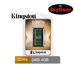 Kingston KCP 4GB DDR4 2400MHz SO-DIMM 1.2V - KCP424SS6/4FR