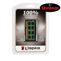 Kingston KCP 8GB DDR3 1600MHz SO-DIMM 1.35V - KCP3L16SD8/8FR