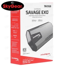 Ổ cứng SSD Kingston SHSX100/960G - SAVAGE EXO