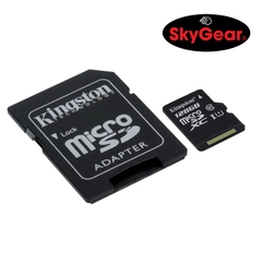 Thẻ nhớ Kingston microSD Canvas Select Class 10 80R 128GB + SD Adapter - SDCS/128GB