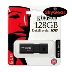 USB KINGSTON DATA TRAVELER DT 100 G3 128GB (DT100G3/128GB)