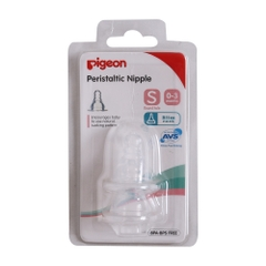 Núm ty pigeon Plus (cổ hẹp, silicon)