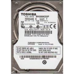 Ổ cứng laptop HDD Toshiba 500GB