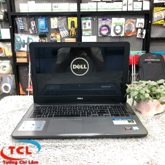 Laptop Dell Inspiron 5567 (Core i5-7200U, RAM 4GB, HDD 500GB, VGA AMD Radeon R7 M445 2GB, 15.6 inch FHD)