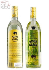 Vodka Cỏ Ba Lan ZUBROWKA BISON GRASS ( 1L )