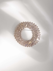 Cristal Ring Brooch