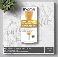 Kem Mắt Gold Collagen Balance Active Formula