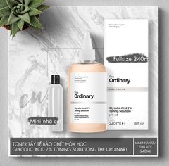Toner Tẩy Da Chết Glycolic Acid 7% Toning Solution - The Ordinary