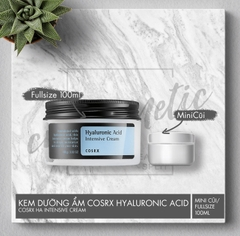 COSRX – HYALURONIC ACID INTENSIVE CREAM (Kem Dưỡng Ẩm Chứa Hyaluronic Acid)