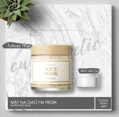 Mặt nạ Gạo I'm From - I'm From Rice Mask