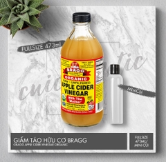 GIẤM TÁO BRAGG ORGANIC RAW APPLE CIDER VINEGAR