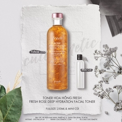 TONER FRESH ROSE DEEP HYDRATION FACIAL TONER