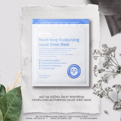 Mặt Nạ Dưỡng Ẩm By Wishtrend Hours-Long Moiturizing Gauze Sheet Mask