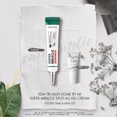 Kem Trị Mụn SOME BY MI SUPER MIRACLE SPOT ALL KILL CREAM