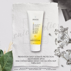 Kem chống nắng cho da hỗn hợp Image Skincare Prevention+ Daily Ultimate Protection Moisturizer SPF 50