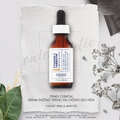 Serum dưỡng trắng da OBAGI CLINICAL Vitamin C+ Arbutin Brightening Serum
