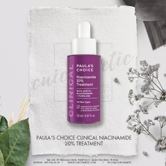 Serum Se Khít Lỗ Chân Lông CLINICAL NIACINAMIDE 20% TREATMENT