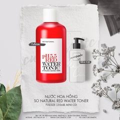 Nước Hoa Hồng Red Peel So Natural pH 5.5 Red Water Tonic