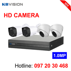 Gói camera HD KBvision 1.0MP