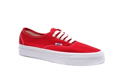 Vault og authentic lx (canvas/suede) - Red 2020