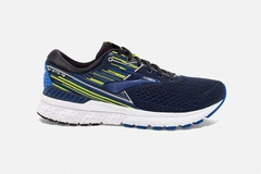 Brooks Adrenaline GTS 19 Men - Black/Blue/Nightlife