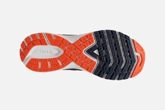 Brooks Ravenna 10 Men - Ebony/Navy/Mandarin