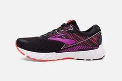 Brooks Adrenaline GTS 19 Women - Black/Purple/Coral