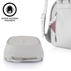 Elle Fashion Anti-Theft backpack, Light Grey