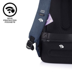 Bobby Pro anti-theft cut-proof backpack, grey