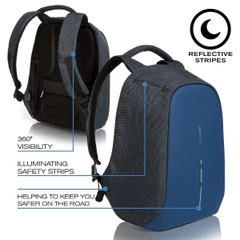Bobby Compact Anti-Theft backpack, Diver Blue