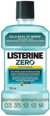 Listerine Cool Mint Zero 750ml