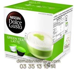 Milk Green Tea Nescafe Dolce Gusto - Green Tea Latte