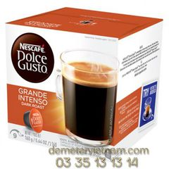 Roasted Ground Coffee Nescafe Dolce Gusto - Grande Intenso
