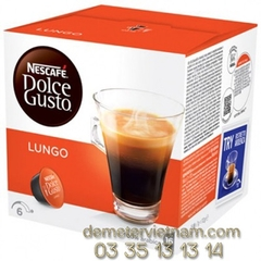 Roasted Ground Coffee Nescafe Dolce Gusto - Lungo