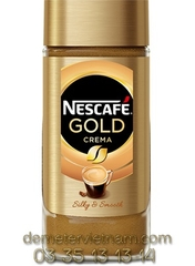 NESCAFE Gold Crema instant combined roasted coffee