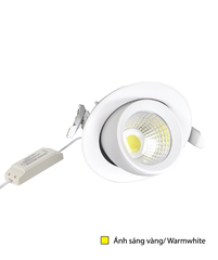 Điện Quang Recessed LED Spotlight ĐQ LEDRSL03 20727 (20W, Warmwhite)