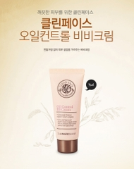 KEM BB CHO DA DẦU, MỤN OIL FREE THE FACE SHOP