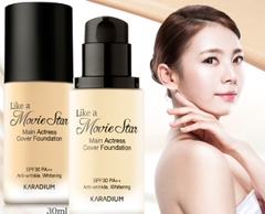 KEM NỀN KARADIUM LIKE A MOVIE STAR COVER FOUNDATION (DẠNG LỌ)