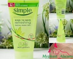 SỮA RỬA MẶT SIMPLE KIND TO SKIN REFRESHING