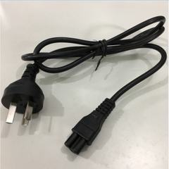 Dây Nguồn THT-301 XD-001 AC Power Cord Australia & China IEC60320 IEC C5 6A 2.5A 250V 3X0.5mm Length 1.2M