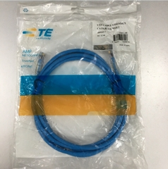 Dây Nhẩy RJ45 Patch Cord AMP Cat6 1859247-7 Straight Through Cable Blue Length 2.1M
