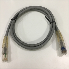 Dây Nhẩy ADC KRONE Cat6 RJ45 UTP Patch Cord Straight-Through Cable 6830 2 821-04 PVC Jacketed GREY Length 1M