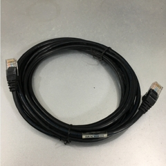 Dây Nhẩy DELL Original RJ-45 12 FT CAT5E KVM 2R512 CN-02R512 UTP PVC CM Ethernet Network Patch Straight Through Cable Black Length 3.6M