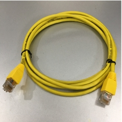 Dây Nhẩy TELDOR CAT5E RJ45 UTP PVC Ethernet Network Patch Straight Through Cable Yellow Length 2M