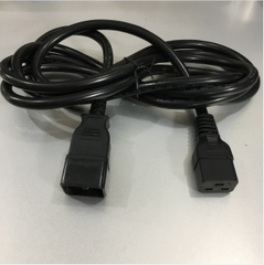 Dây Nguồn Máy Chủ IEC320 C19 to IEC320 C20 16A 250V 3x2.5mm² For PDU UPS And Server Computer Power Cord Cable Length 3M