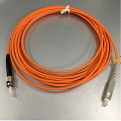Dây Nhẩy Quang SC To ST Simplex Multimode Fiber Optic Patch Cord SC-ST Cable OS2 50/125 3.0mm PVC Length 5M