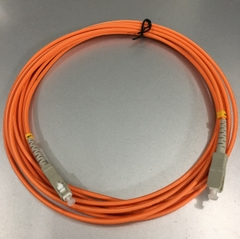 Dây Nhẩy Quang SC To SC Simplex Multimode Fiber Optic Patch Cord SC-SC Cable OS2 50/125 3.0mm PVC Length 5M